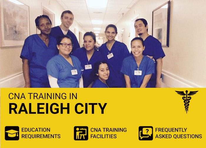 CNA Training in Raleigh city